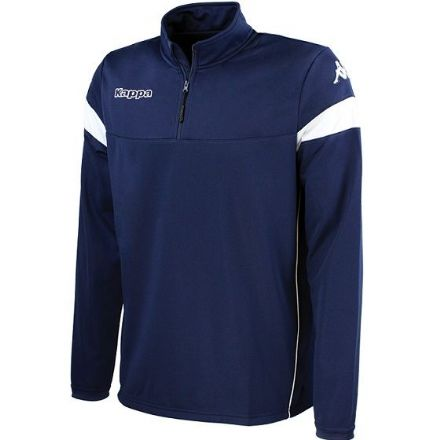 Novare Training Sweat 1/4 Zip Blue Marine / White